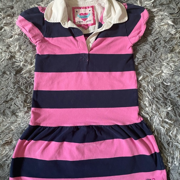Baby Gap Striped polo Dress 5T